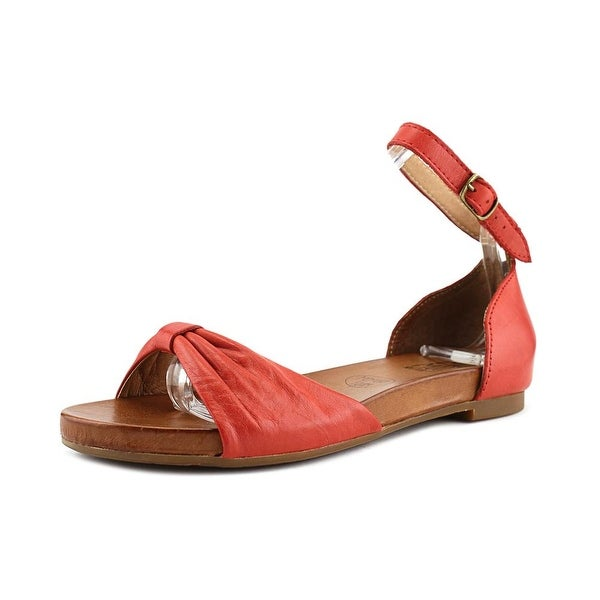 Miz Mooz ARLENE Open-Toe Leather Slingback Sandal
