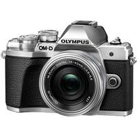 Olympus OM-D E-M10 Mark III Mirrorless Camera with 14-42mm EZ Lens (Silver)