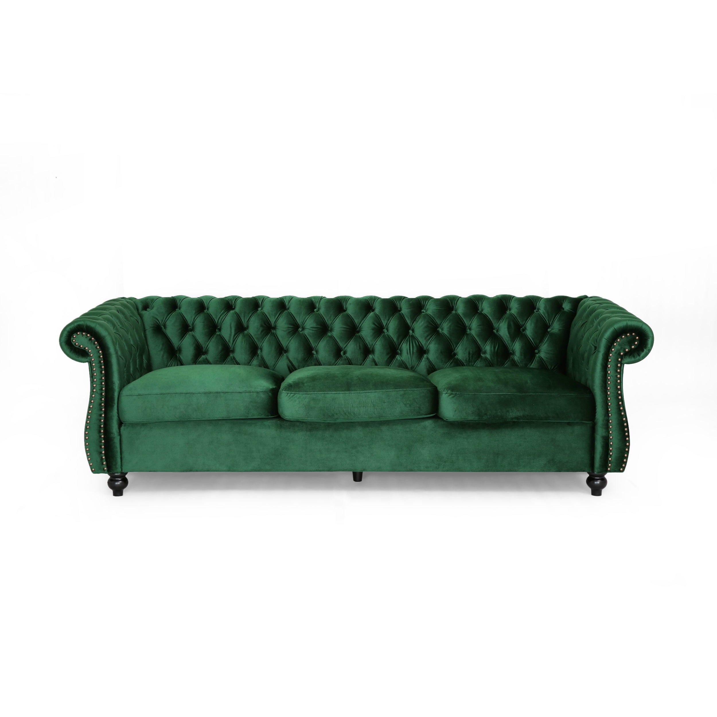 Picture of: Somerville Chesterfield Tufted Velvet Sofa By Christopher Knight Home On Sale Overstock 24242295