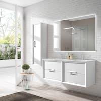 48 Inch Bath Vanity, Buy 64 Inch Bathroom Vanities Vanity Cabinets Online At Overstock Our Best Bathroom Furniture Deals