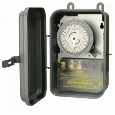 Woods 59101R Outdoor Heavy Duty Mechanical Timer