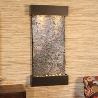 Adagio Whispering Creek Fountain with Blackened Copper Finish - Multiple Colors Available