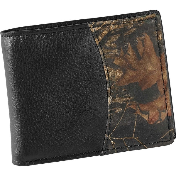 Legendary Whitetails Deluxe Camo Billfold Wallet - Black - One size