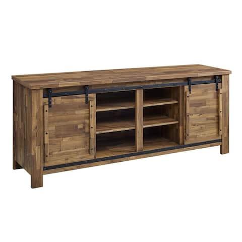 Cheshire 70-inch Rustic Sliding Door Buffet Table Sideboard