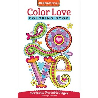 Design Originals-Color Love Coloring Book