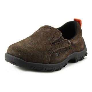 Columbia Adventurer Moc Toddler Round Toe Suede Brown Hiking Shoe