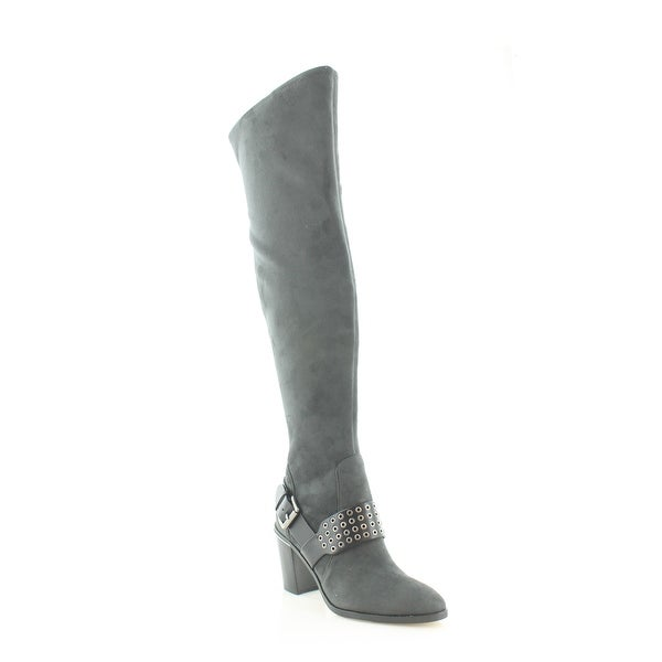 8f56fe329f33 Shop Michael Kors Brody Over-The-Knee Boot Women s Boots Charcoal ...