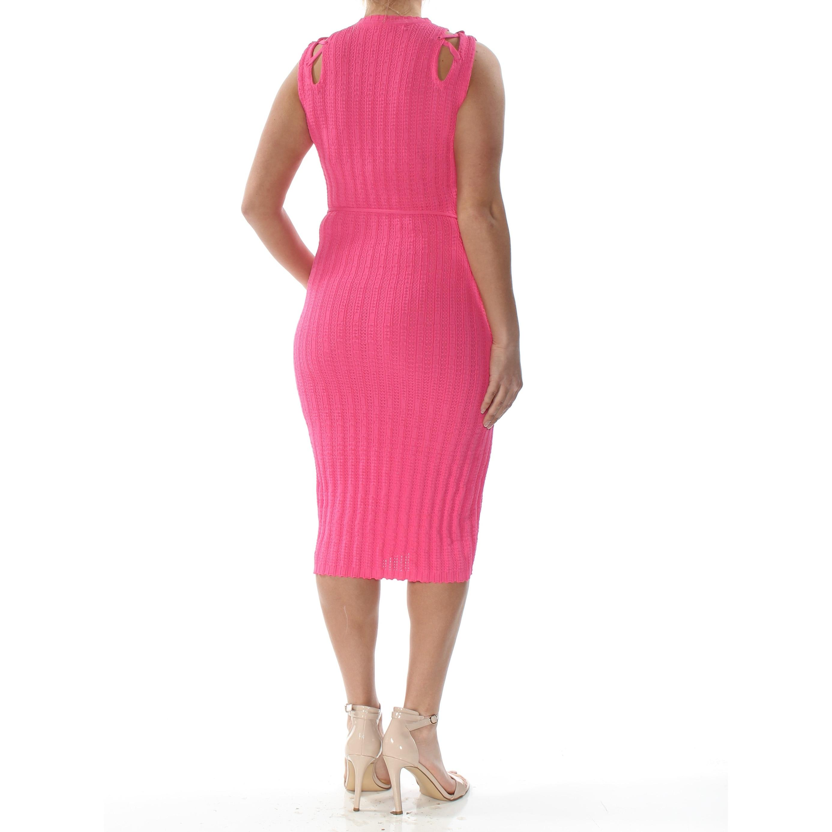 RACHEL Rachel Roy Women/'s Keyhole Sleeveless Dress