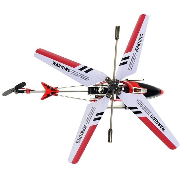 Shop Red Syma S107G 3CH Mini Remote Control RC Helicopter