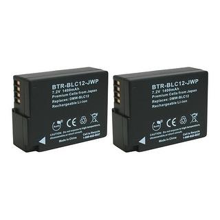 Battery for Panasonic DMWBLC12 / DMWBLC12E (2-Pack) Camera Battery