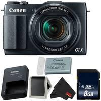 Canon PowerShot G1 X Mark II Digital Camera 9167B001 (Intl Model)  Bundle