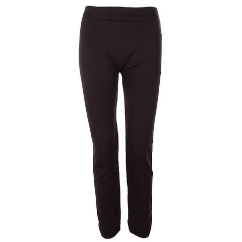 Alfani Petite Brown Fleece Lining Leggings 4P