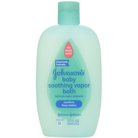 JOHNSON'S Soothing Vapor Bath 15 oz