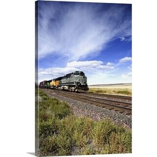 """Train"" Canvas Wall Art"