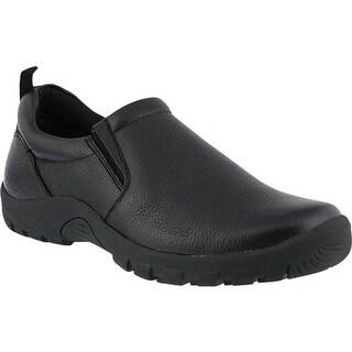 Spring Step Men's Beckham Black Leather