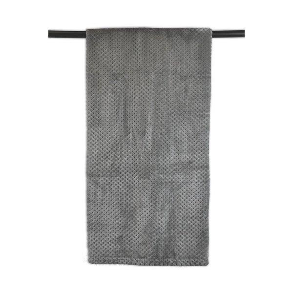 """60"""" x 50"""" Gray Decorative Stadium Throw Blanket"""