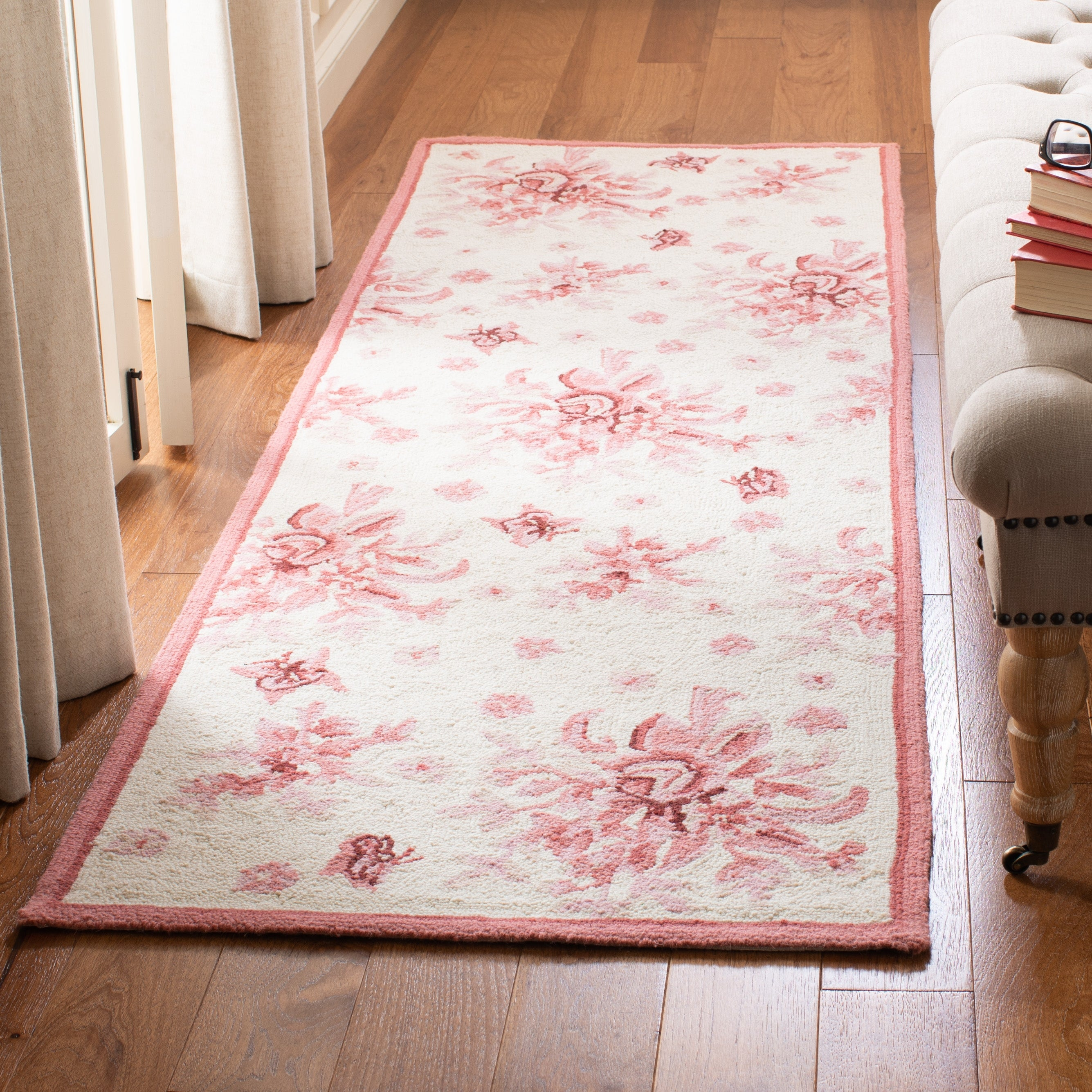 Safavieh Hand Hooked Chelsea Tiarra Country Oriental Wool Rug On Sale Overstock 6990494