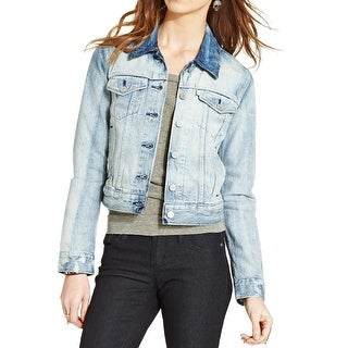 Levi's Womens Juniors Jacket Denim Off Shore Wash