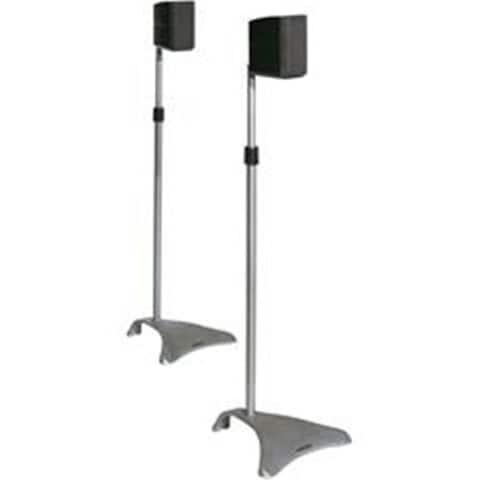 Atlantic Adjustable Satellite Speaker Stands SPSCUR47