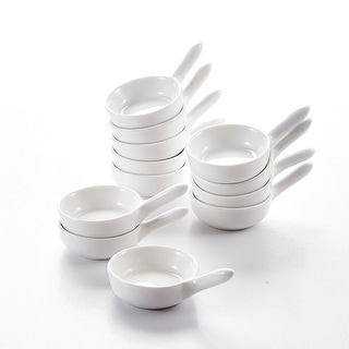 Link to 3.75'' White Porcelain Ramekins Souffle Dishes Set of 12 Similar Items in Bakeware