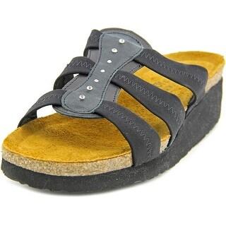 Naot Brooke Open Toe Leather Platform Sandal