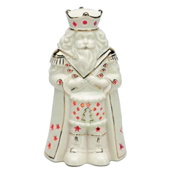 Mr. Christmas Illuminated Porcelain Nutcracker Figurine