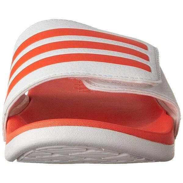 8565fa91da adidas Performance Kids' Adilette Clf+ Adj K Sandal - 10 M US Big Kid