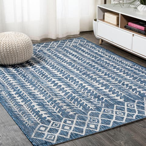 JONATHAN Y Tokay Bohemian Geometric Indoor/Outdoor Area Rug