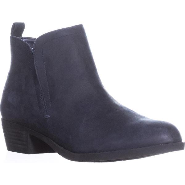 Carlos by Carlos Santana Boe Ankle Boots, Black, 8 US / 38 EU, Inkwell - 6 us / 36 eu