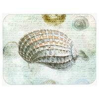 Carolines Treasures SB3029LCB Shells Glass Cutting Board, Large