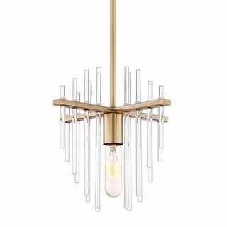 """Designers Fountain 90430 Reeve Single Light 11"""" Wide Pendant"""