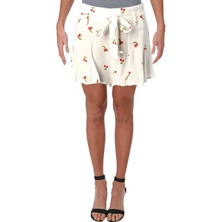 Link to Aqua Womens Cherry Casual Shorts Printed Belted - White/Red Similar Items in Women's Shorts