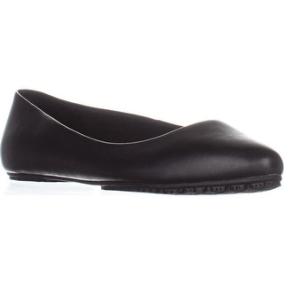 Dr. Scholls Rain Comfort Flat Work Shoes, Black