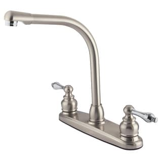 Link to Kingston Brass GKB71.ALLS Victorian 1.5 GPM Standard Kitchen Faucet Similar Items in Faucets