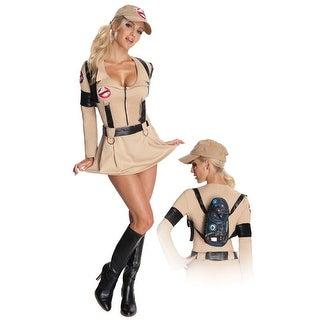 Rubies Ghostbusters Secret Wishes Ghostbusters Dress Adult Costume - Beige