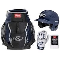 Rawlings Baseball Ready Bundle (Navy)