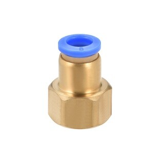 "3/8"" G Female Straight Thread 8mm Push In Joint Pneumatic Quick Fittings - 3/8"" G x 8mm"