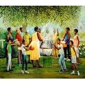 ''Family Reunion'' by Lavarne Ross African American Art Print (25 x 30.5 in.) - Thumbnail 0