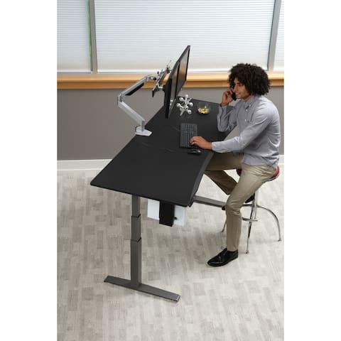SmartMoves Sit/ Stand Curved Adjustable Desk