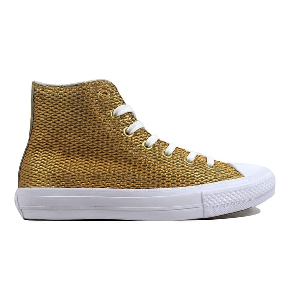 3b34afb20a56 ... Women s Athletic Shoes. Converse Women  x27 s Chuck Taylor All Star II Hi  Gold White-