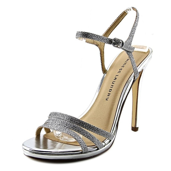 Chinese Laundry Be Alright Silver Sandals