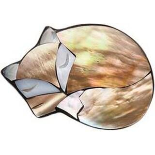 Fox - Paradise Inlaid Shell Needle Keeper