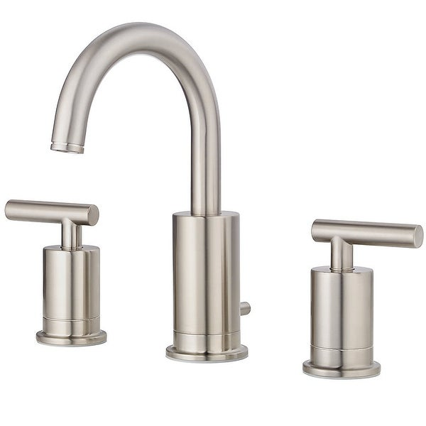 Pfister LG49-NC1 Contempra 1.2 (GPM) Widespread Bathroom Faucet with Pop-Up Drain Assembly