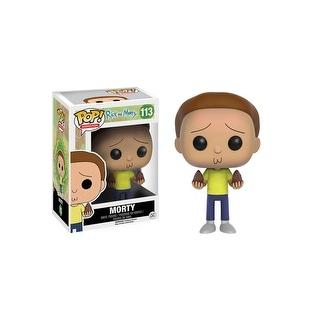 POP Rick And Morty Morty Vinyl Figure