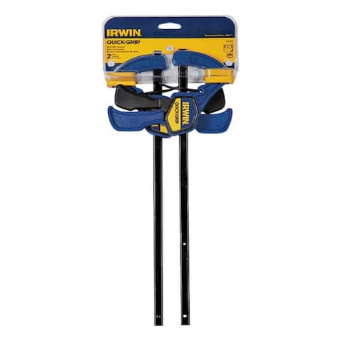 "Irwin 54122 Quick Grip Mini Bar Clamp 12"", 2/Pack"