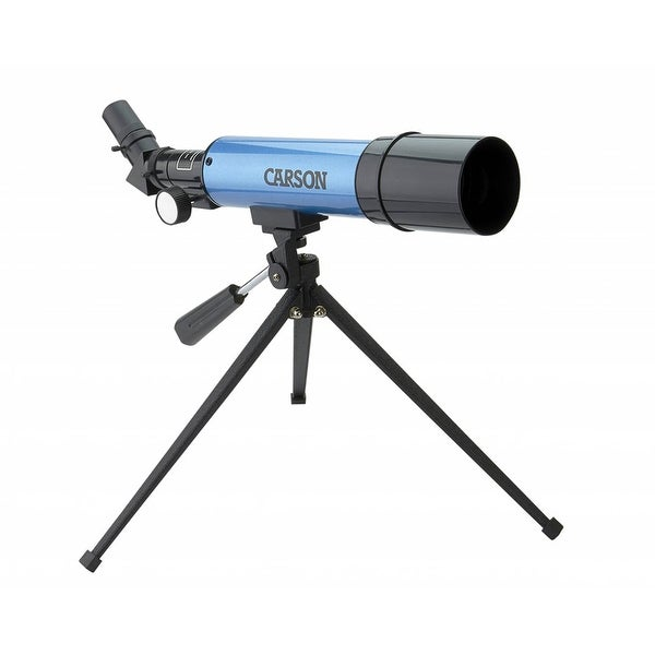 Carson 50mm Refractor Telescope with Table-Top Tripod