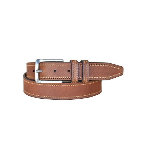 Lejon Western Belt Mens Wrigley Leather Straps Tan
