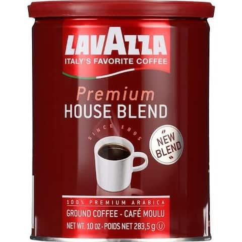 Lavazza - Ground Premium House Blend Coffee ( 2 - 10 OZ)