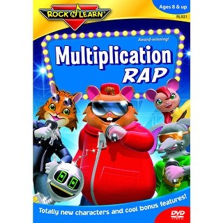 Multiplication Rap Dvd