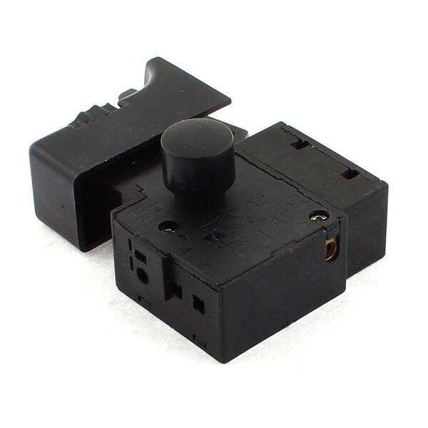 FA2-6//1BEK Black 6A 250V Electric Drill Speed Control Trigger Button Switch4H